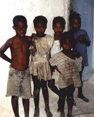 Children adopted from Haiti