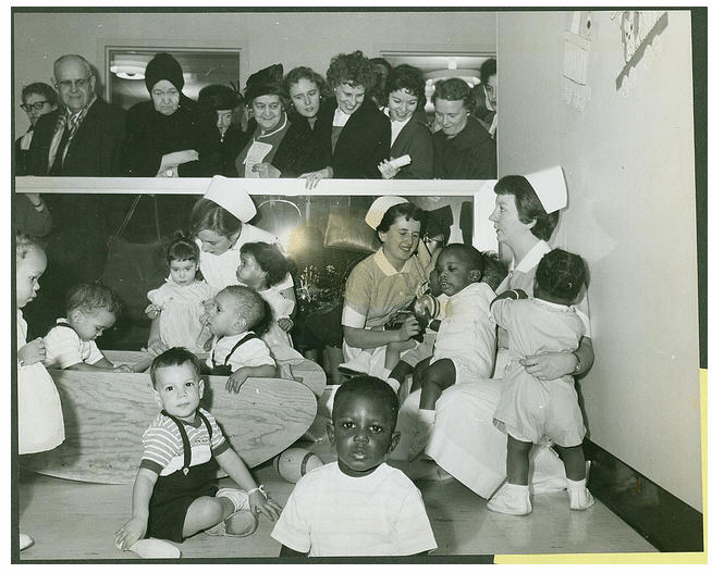NY Foundling Hospital Open House 1958