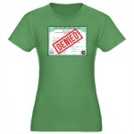 Denied Adoptee T shirt