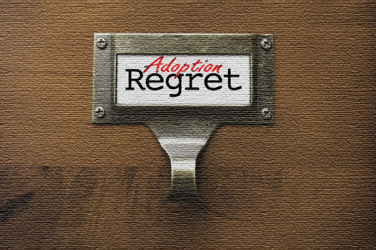 Adoption and regret go hand in hand.