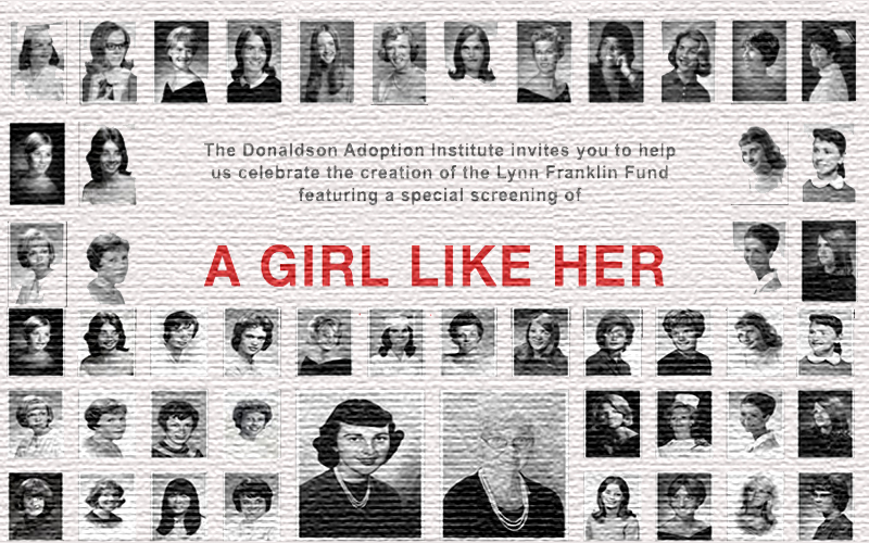 "NY screening of ""A Girl Like Her"" adoption movie"