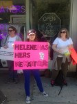 Brooklyn New York Adoptee Rights Protest at Helene Weinstein's Office