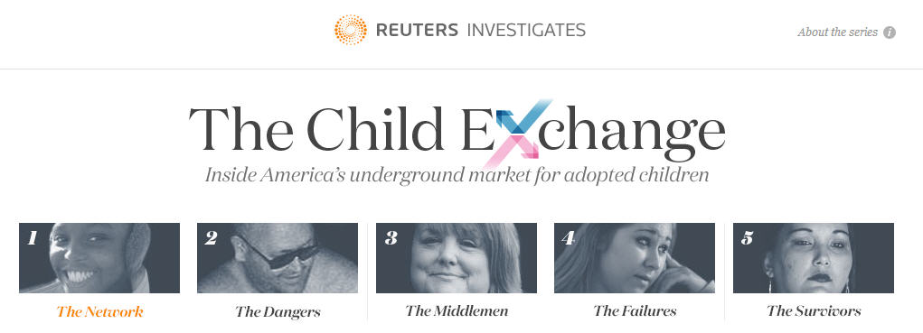 Reuters investigates adoption abuses and illegally re homing