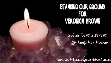 Standing our Ground at Musings of the Lame for Veronica Brown