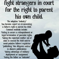 Birth father's rights in adoption