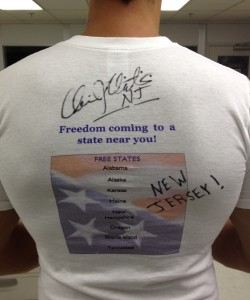 Christie Signs NJ Adoptee Rights SHIRT!