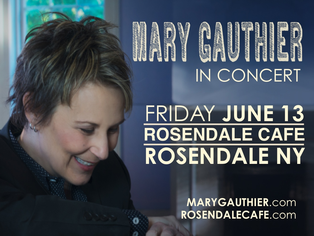 adoptee mary gauthier in new york concernt
