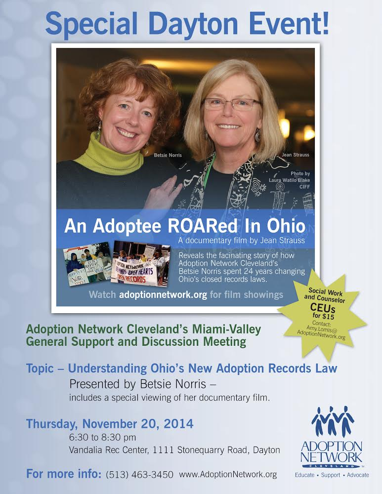 adoption network Cleveland nov 2014