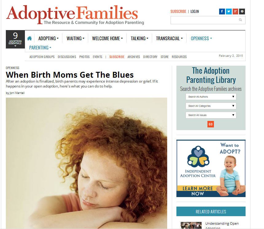 birthmother blues adoptive families bad advice